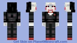 Billy the Puppet |Saw| Minecraft Skin