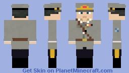 Carl Mannerheim Minecraft Skin
