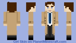 Castiel - [Supernatural] [Better] Minecraft Skin
