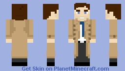 Castiel - [Supernatural] Minecraft Skin