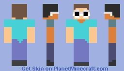 Clout Steve [ JAVY ] Minecraft Skin