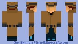 Richard Conway (Gunpoint) (Removable coat) Minecraft Skin