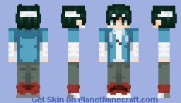 Midoriya Izuku - bandage boi Minecraft