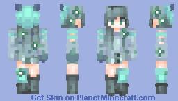 𝒮𝓀𝒶𝒸𝒽𝓊|| Miscellanium- Fallen Water Minecraft Skin