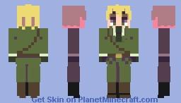 England- Hetalia Minecraft