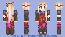 Viridi- Kid Icarus Uprising Minecraft Skin