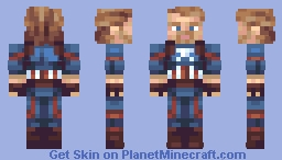 captain america Minecraft
