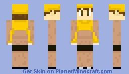 Matt Champion - GOLD Minecraft Skin