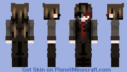 Miku Virus Minecraft Skin