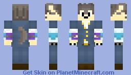 Moritaka Inuzuka - Tokyo Afterschool Summoners Minecraft Skin