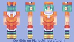 yotsugi ononoki Minecraft Skin