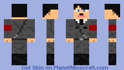 Hitler (Military Uniform) Minecraft Skin