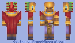 Aztec Priest Minecraft Skin