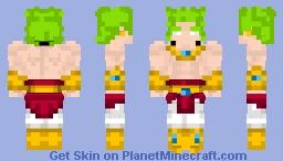 Best Broly Minecraft Skins Planet Minecraft - Skins para minecraft pe broly