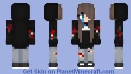 Broken Girl Minecraft Skin