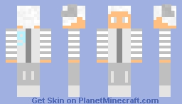Team silver commander vlad Minecraft Skin