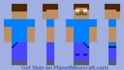 Herobrine Skin Minecraft Skin