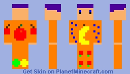 Fruit Man Minecraft Skin