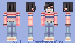 an amazing sweet person who deserves to be loved Minecraft Skin