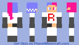team rocket in disguise Minecraft Skin