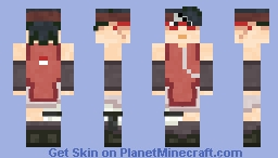 Sarada (Request) Minecraft Skin