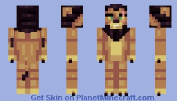 Scar ┃Lion King┃ Minecraft Skin