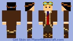 uncompleted Minecraft Skin