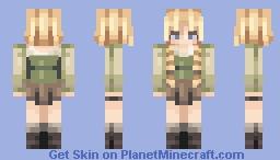Into the Village Minecraft Skin