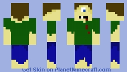 Cyclops Minecraft Skin