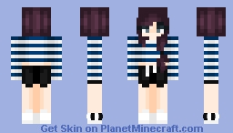 Lyra // Siren's Lament // Rose ~ Minecraft Skin