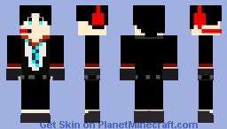 SydrickYT backwards troll Minecraft Skin