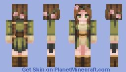 Green Tea Minecraft Skin