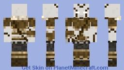 Mountain Orc Minecraft Skin