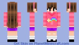 Mabel Pines ~ Gravity Falls Minecraft Skin