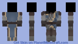 some dumb free armour Minecraft Skin