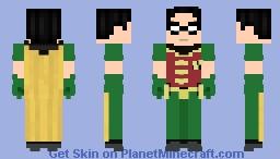 Robin - Teen TItans [Original Series] Minecraft Skin