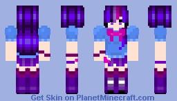 Twilight Sparkle (for SofiaRosalinda) Minecraft Skin