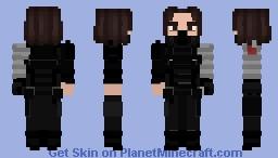 The Winter Soldier Minecraft