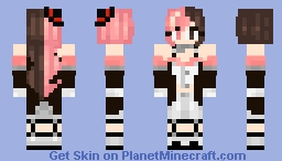 RWBY Neopolitan V6 Minecraft Skin