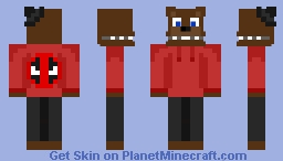 Fanskin for TheFazPool Minecraft Skin