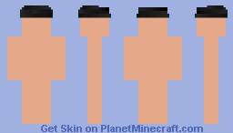 Black Flat Cap Minecraft Skin