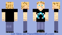 Captain Awesome Casual Minecraft Skin