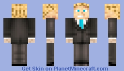 Captain Awesome Suite Minecraft Skin