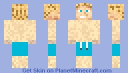 Captain Awesome Swim suite. Minecraft Skin