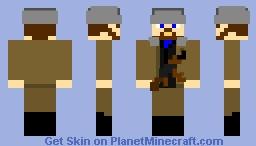Chechen Guerrilla - Chechen Republic of Ichkeria, 1995 Minecraft Skin