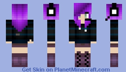 So i changed my character up a bit and changed my title (read desc) Minecraft Skin