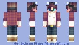 luck  ☘️  Persona Update Minecraft Skin