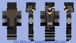 Deadshot (Assult on Arkham) Minecraft Skin