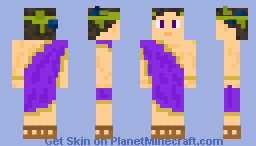 Dionysus, God of Wine Minecraft Skin