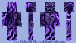 Erebus, The God Of Darkness Minecraft Skin
